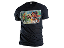Polera Crash Bandicoot Square Logo M