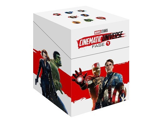 Pack Marvel Cinematic Universe Fase 1 Blu-ray