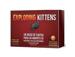 Exploding Kittens en español - Juego de mesa