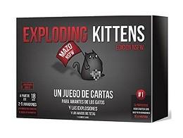 Exploding Kittens NSFW en español - Juego de mesa