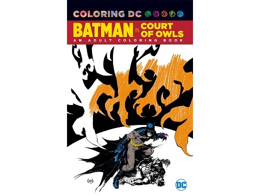 Batman The Court of Owls Coloring Book (ING) Libro