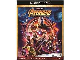 Avengers: Infinity War 4K Blu-ray