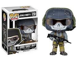 Figura Pop Games: Call of Duty - Ghost Riley
