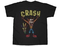 Polera Crash Bandicoot Woah Black L