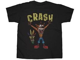 Polera Crash Bandicoot Woah Black XL