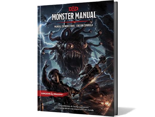 D&D Manual de Monstruos - Juego de rol