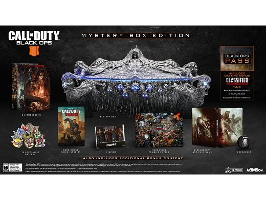 Call of Duty Black Ops 4 Mystery Box Edition PS4