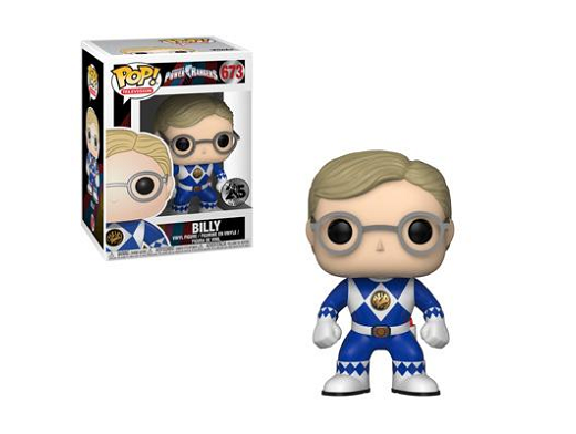Figura POP! TV: Power Rangers -Blue Ranger - Billy