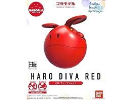 Model Kit Gundam Haro Diva Red HaroPla