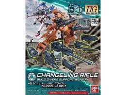 Changeling Rifle Gundam Build Divers Bandai HG BC
