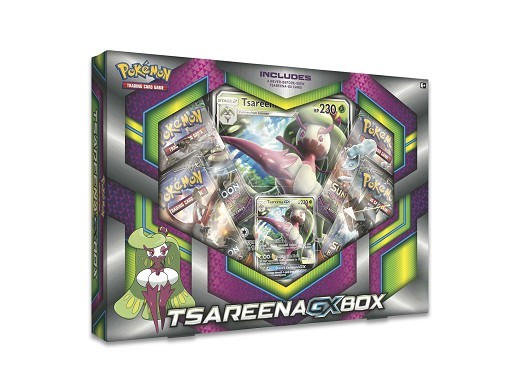 Pokemon TCG: Tsareena-GX Box