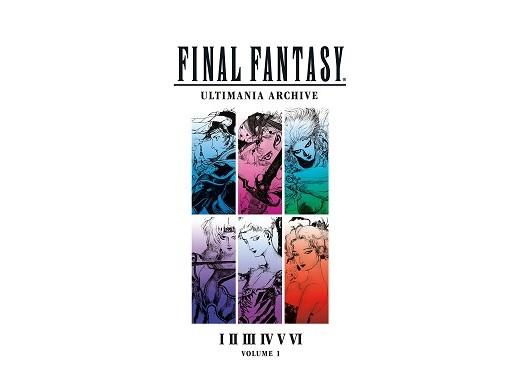 Final Fantasy Ultimania Archive Vol. 1 (ING) Libro