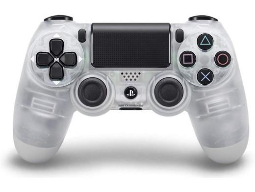 Control Sony DualShock 4 Crystal PS4