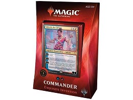 Mazo MTG Commander - Exquisite Invention (inglés)