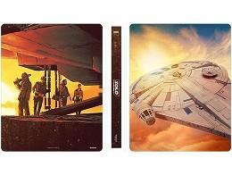 Han Solo Una Historia de Star Wars Steelbook