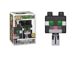 Figura Pop! Games: Minecraft - Tuxedo Cat Chase