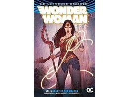 Wonder Woman v5 Heart of The Amazon (ING/TP) Comic