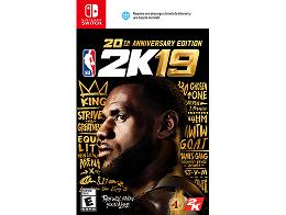 NBA 2K19 20th Anniversary Edition NSW