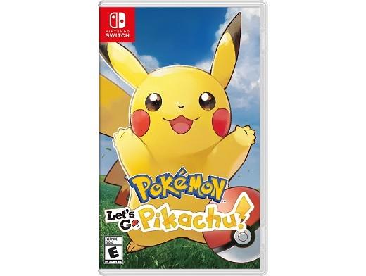 Pokémon Let's Go Pikachu NSW