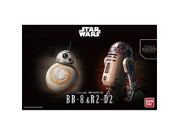 Model Kit BB-8 & R2-D2 Star Wars