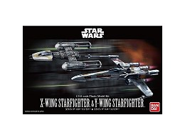 Model Kit X-Wing & Y-Wing Star Wars