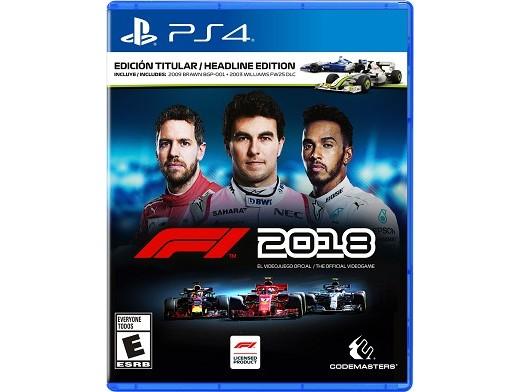 F1 2018 Headline Edition PS4 Usado
