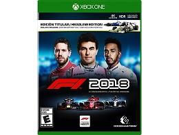 F1 2018 Headline Edition XBOX ONE Usado