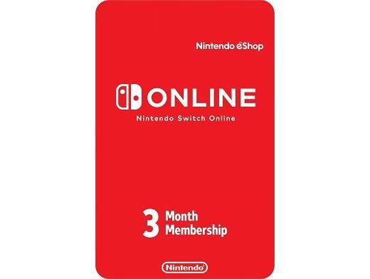 Nintendo Switch Online - Prepago 3 meses (DIGITAL)
