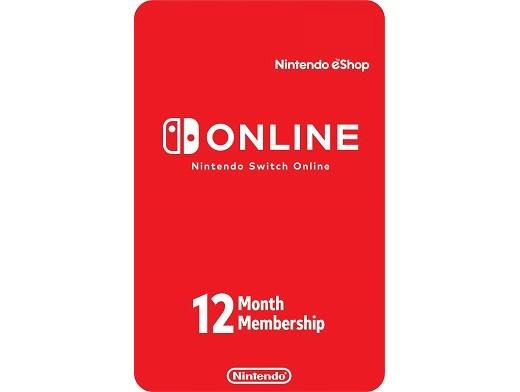 Nintendo Switch Online Prepago 12 meses (DIGITAL)
