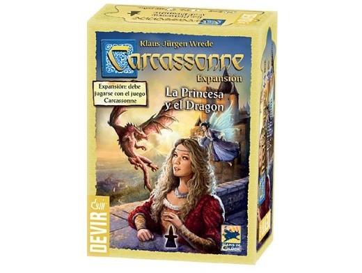 Carcassonne: La Princesa y el Dragón (expansion)