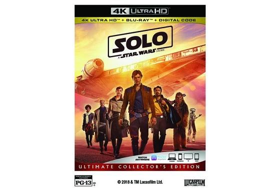 Solo: A Star Wars Story 4K Blu-ray