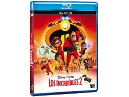 Los Increíbles 2 3D Blu-ray latino
