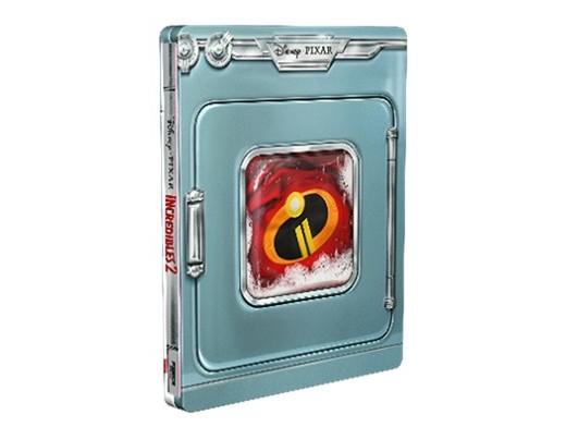 Los Increíbles 2 Blu-ray latino Steelbook