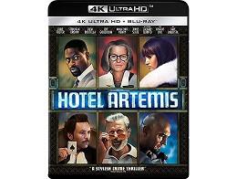 Hotel Artemis 4K Blu-ray