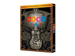 Coco Blu-ray + DVD + CD con música original