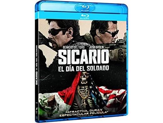 Sicario - El Día del Soldado Blu-ray latino