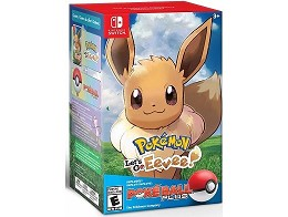 Pokémon Let's Go Eevee + Poké Ball Plus NSW