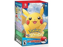 Pokémon Let's Go Pikachu + Poke Ball Plus NSW