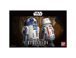 Model Kit R2-D2 & R5-D4 - Star Wars