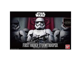 Model Kit First Order Stormtrooper - Star Wars