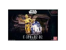 Model Kit C-3PO & R2-D2 - Star Wars
