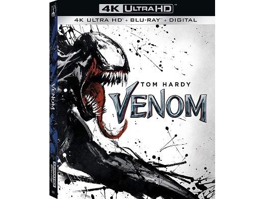 Venom 4K Blu-Ray USA
