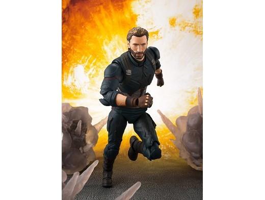 Figura Captain America & Tamashii Effect Explosion