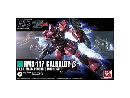Model Kit Galbaldy Beta Zeta Gundam HG UC