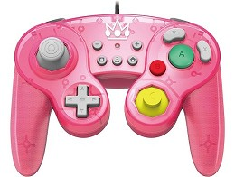 Control HORI Nintendo Battle Pad Peach NSW