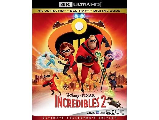 Incredibles 2 4K Blu-ray