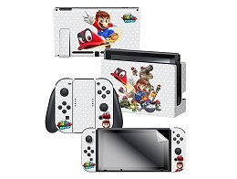 Super Mario Odyssey Capture Skin Screen Set NSW