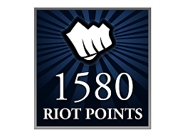 Recarga Riot Points LoL 1580 RP (DIGITAL)