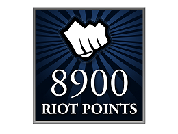 Recarga Riot Points LoL 8900 RP (DIGITAL)