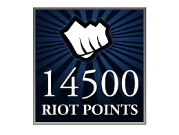 Recarga Riot Points LoL 14500 RP (DIGITAL)